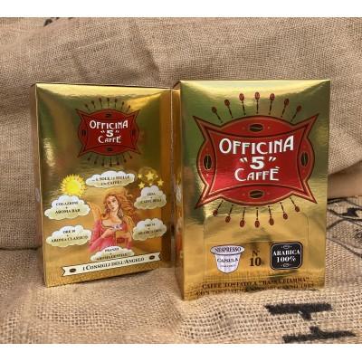 "OFFICINA ""5"" CAFFÉ 100% arabika Nespresso kapsle 10 ks"