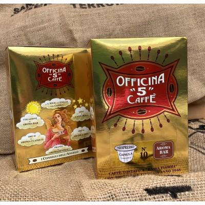 """OFFICINA """"5"""" CAFFÉ Aroma BAR Nespresso kapsle 10 ks"""
