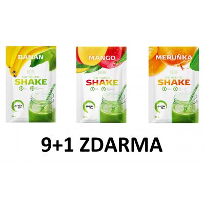 9+1 ZDARMA MIX Matcha Tea shake  - 30g