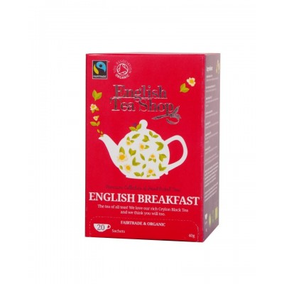 The English Tea Shop English Breakfast  čaj 20 sáčků