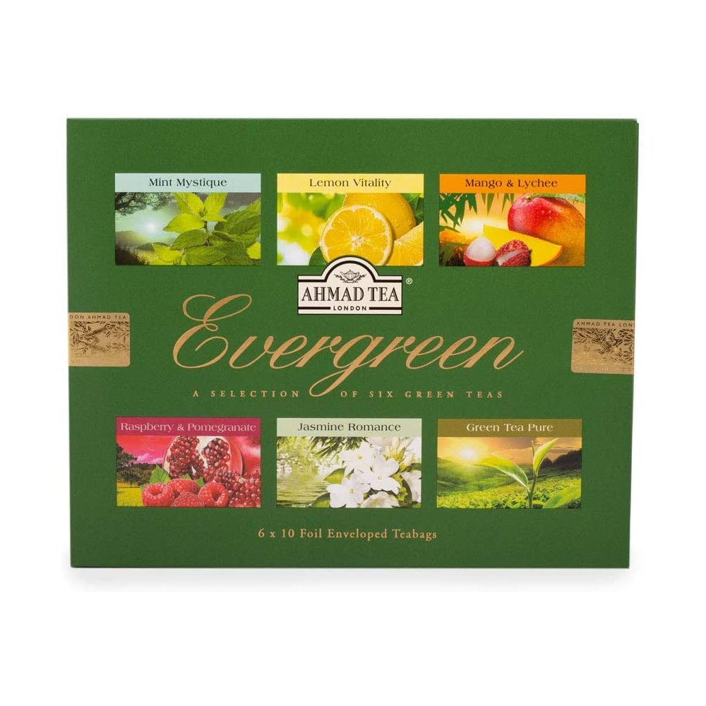 Ahmad Tea evergreen kolekce zelených čajů