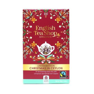 The English Tea Shop Vánoce na Ceylonu černý čaj 20 sáčků