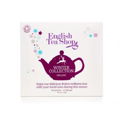English Tea Shop Vánoční zima bio papírová kazeta 96 sáčků
