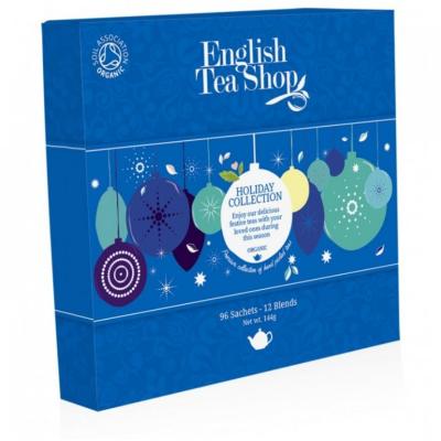 English Tea Shop modré ozdoby Vánoční kolekce čajů bio...