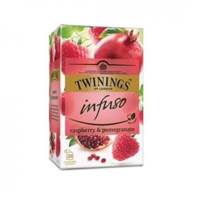Twinings Ovocný čaj MALINA & GRANÁTOVÉ JABLKO 20 x 2g