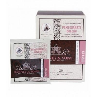 Harney & Sons čaj Oolong s příchutí granátového jablka - Wrapped Sachets