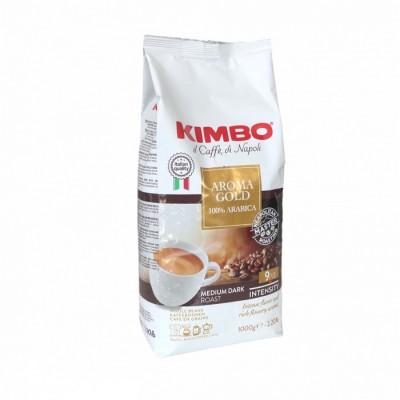 Kimbo Aroma Gold 100% Arabica 1kg zrnková káva