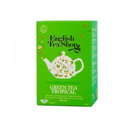 The English Tea Shop Zelený čaj a tropické ovoce 20 sáčků