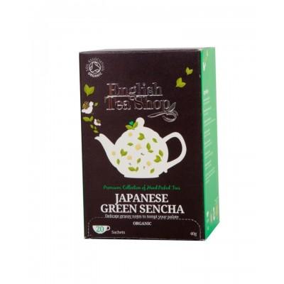 The English Tea Shop čaj Japonský zelený Sencha 20 sáčků