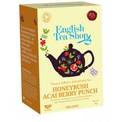 The English Tea Shop čaj Punč s Medovým Keřem & Ovocem Acai 20 sáčků