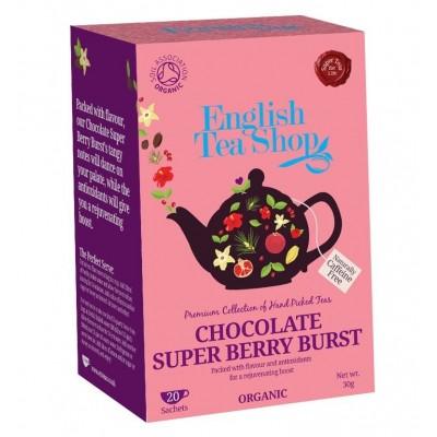 The English Tea Shop čaj čokoláda a super ovoce 20 sáčků