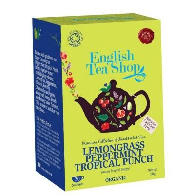 The English Tea Shop čaj Citronová Tráva, Mango a tropickéhé ovoce 20 sáčků