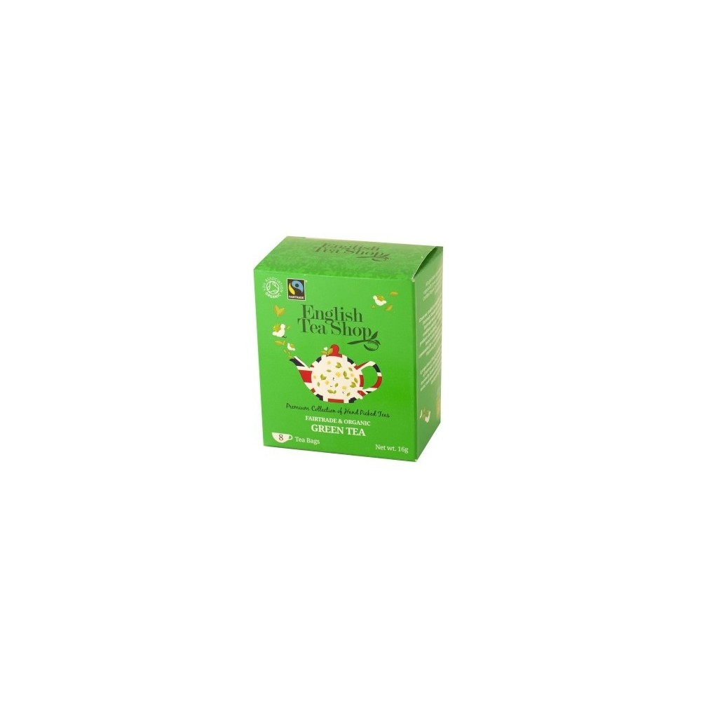 The English Tea Shop Zelený čaj 8 sáčků