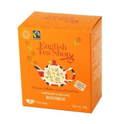 The English Tea Shop čaj čistý Rooibos 8 sáčků