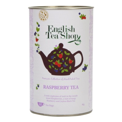 The English Tea Shop Malinový černý čaj 60 sáčků