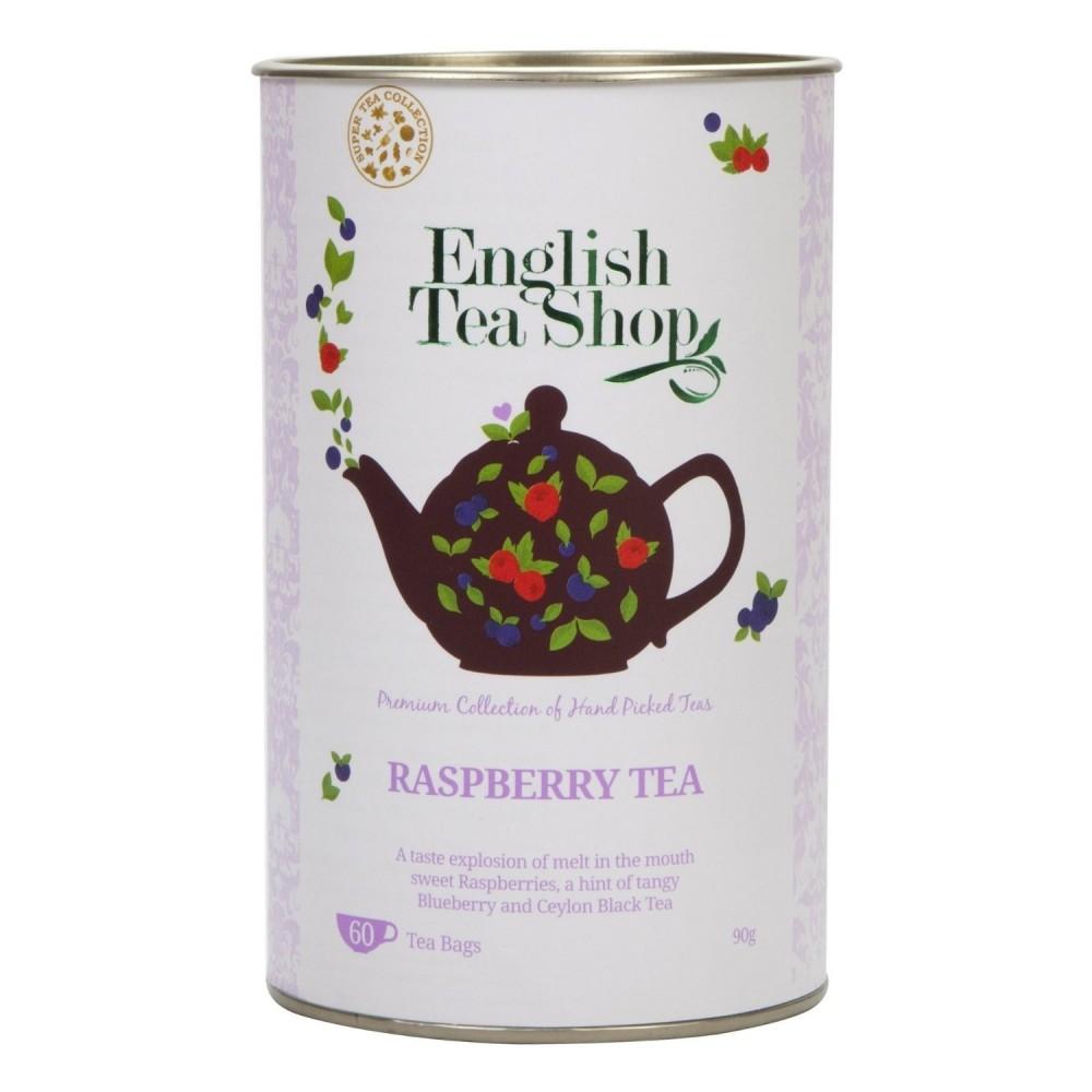 The English Tea Shop Malinový černý čaj 60 sáčků