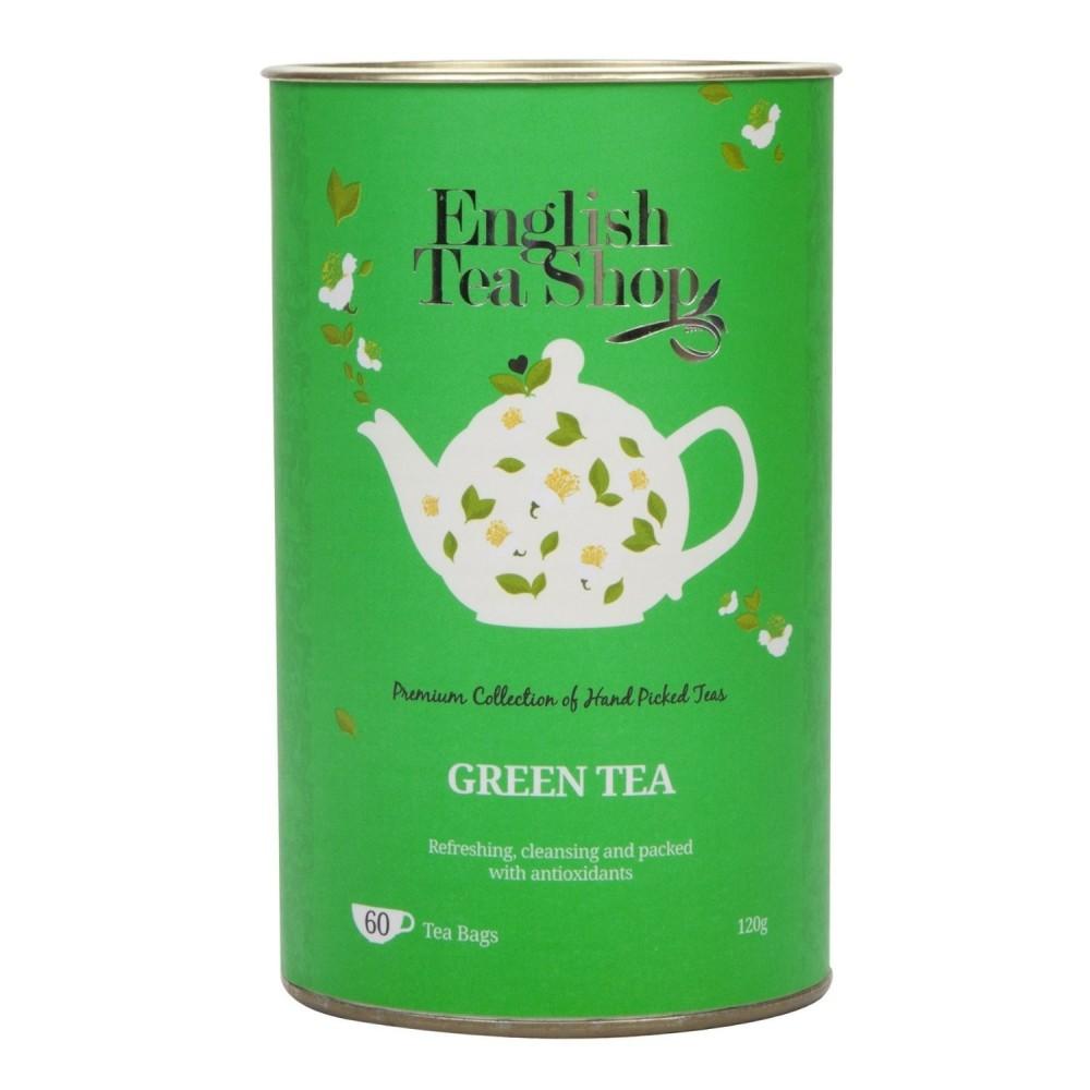 The English Tea Shop čistě zelený čaj 60 sáčků