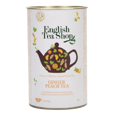 The English Tea Shop Zázvor a broskev černý čaj