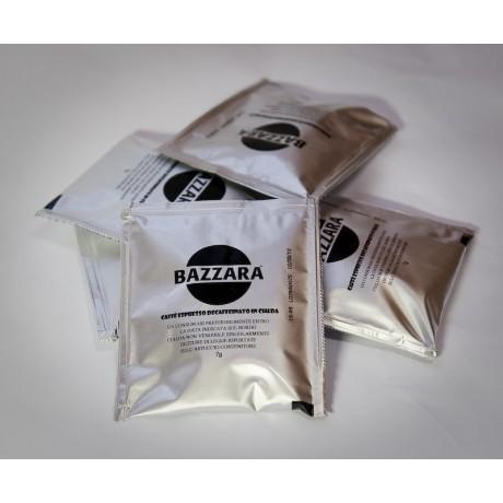 BAZZARA bezkofeinová porcovaná káva v podech 10 ks