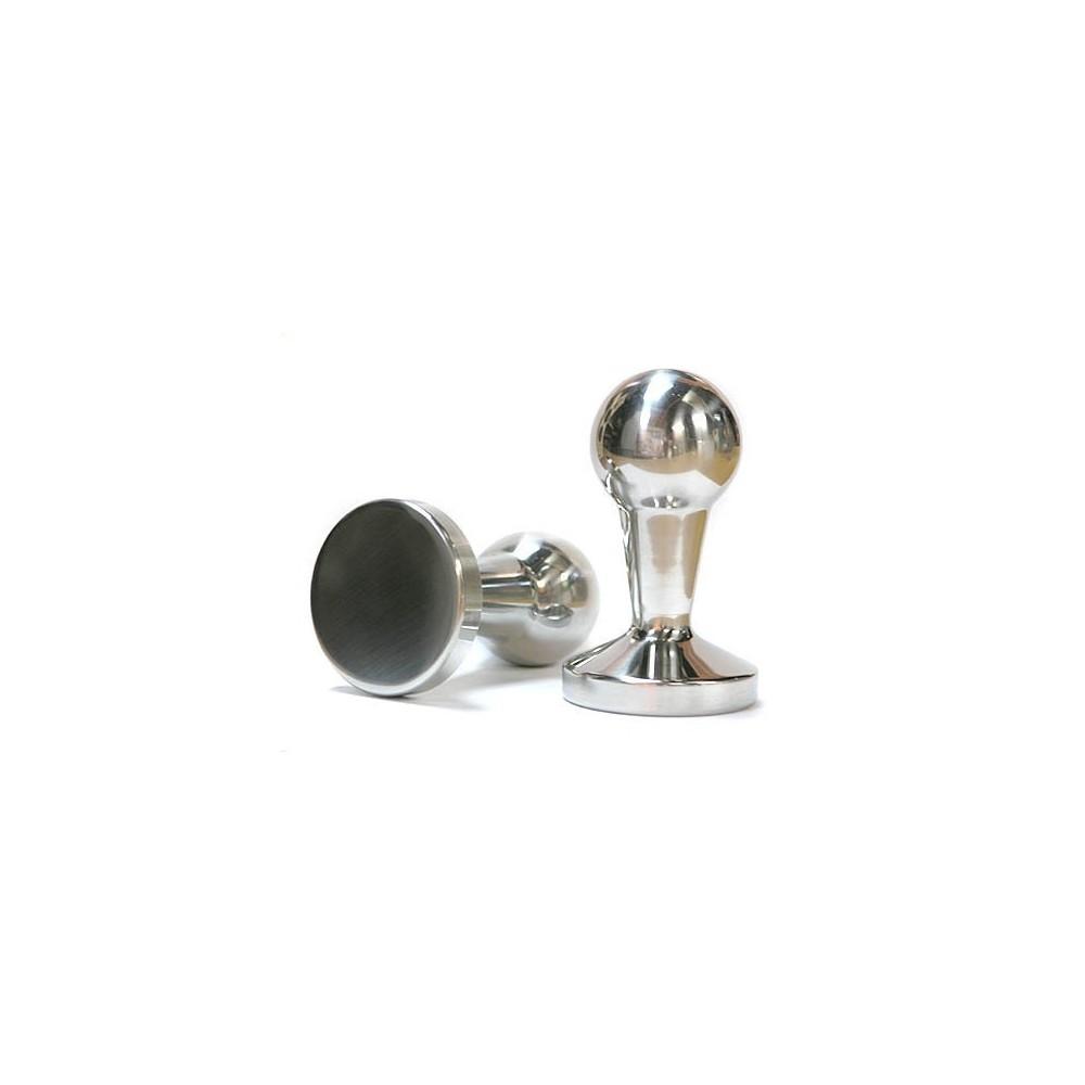 Pěchovadlo kávy - Tamper 53 mm leštěný hliník koule