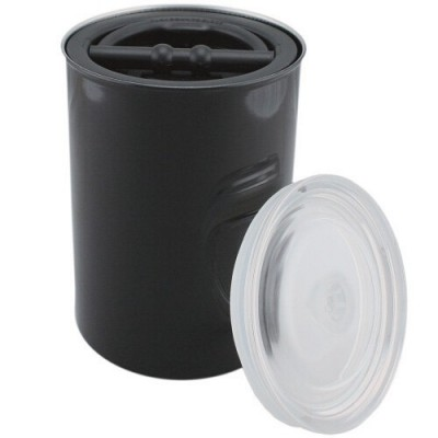 Vakuová dóza na kávu 1800 ml černá