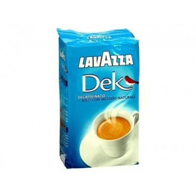 Lavazza Decaffeinato bezkofeinová káva 250g mletá