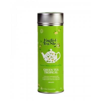 English Tea Shop Zelený čaj s tropickým ovocem 15 pyramidek