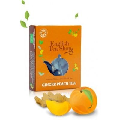 ETS  Černý čaj se zázvorem a broskví (1 porce)