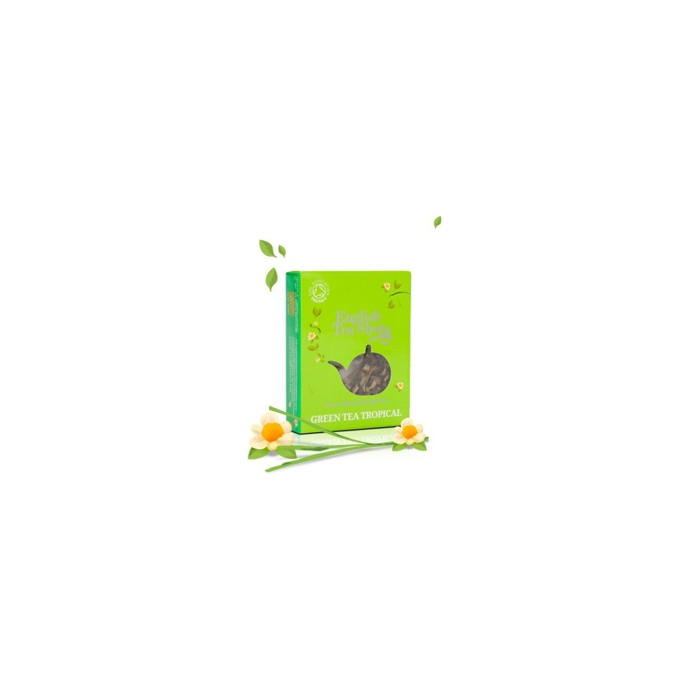 ETS Zelený čaj s  tropickým ovoce (1 porce)