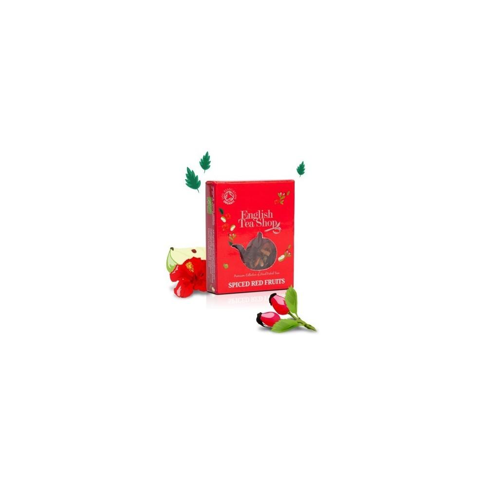 ETS čaj Kořeněné červené ovoce (1 porce)