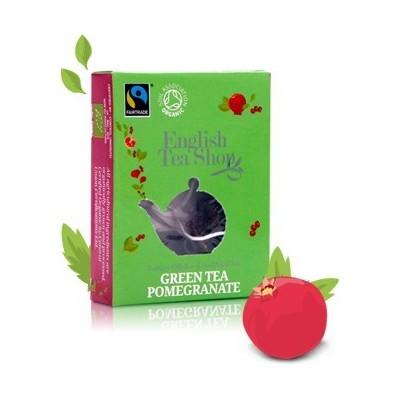 ETS zelený čaj s granátovým jablkem (1 porce)