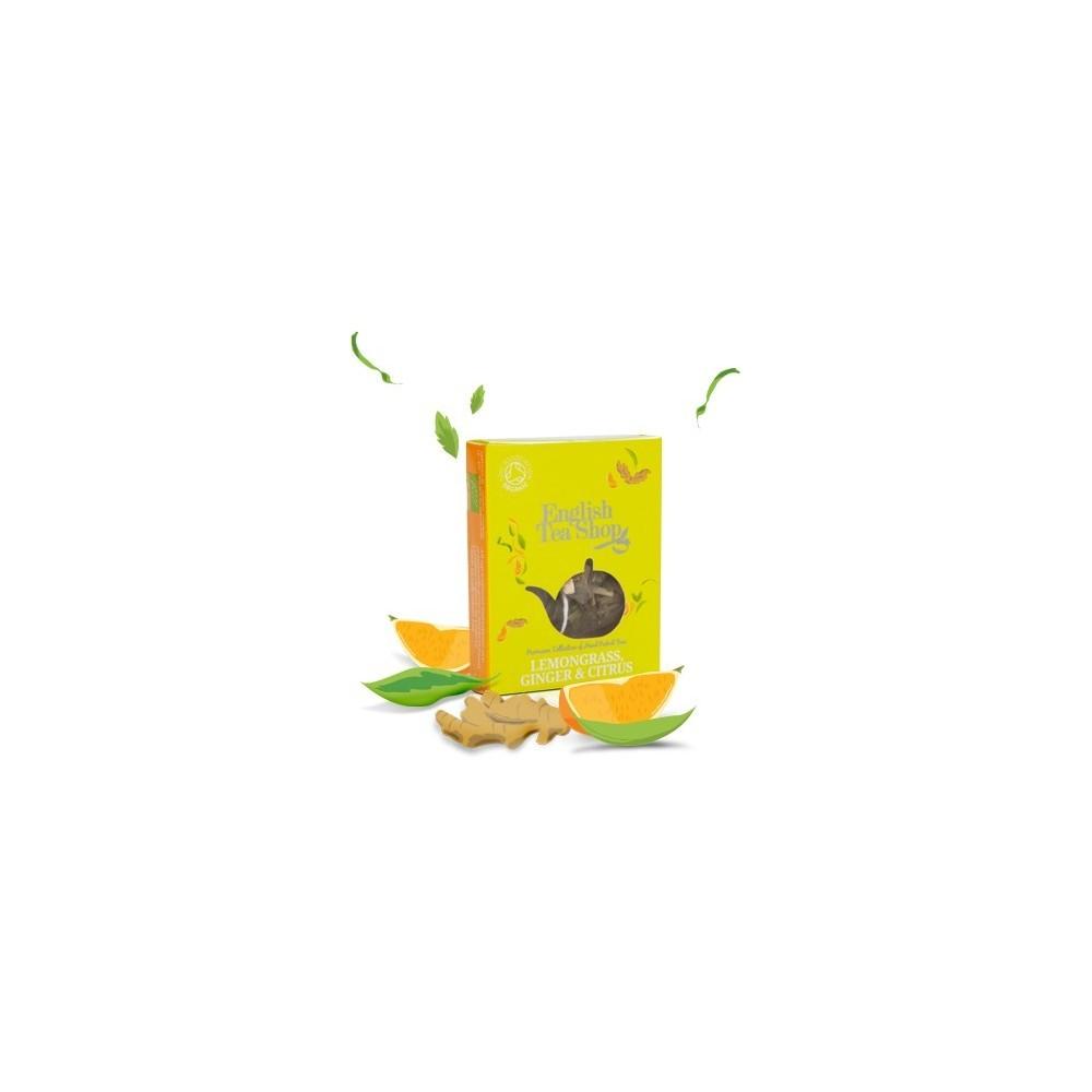 ETS čaj citronová tráva zázvor a citrus (1 porce)