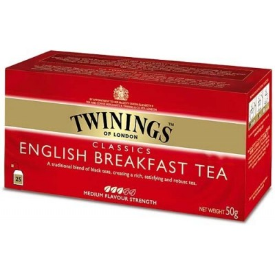 Twinings English Breakfast 25x2g