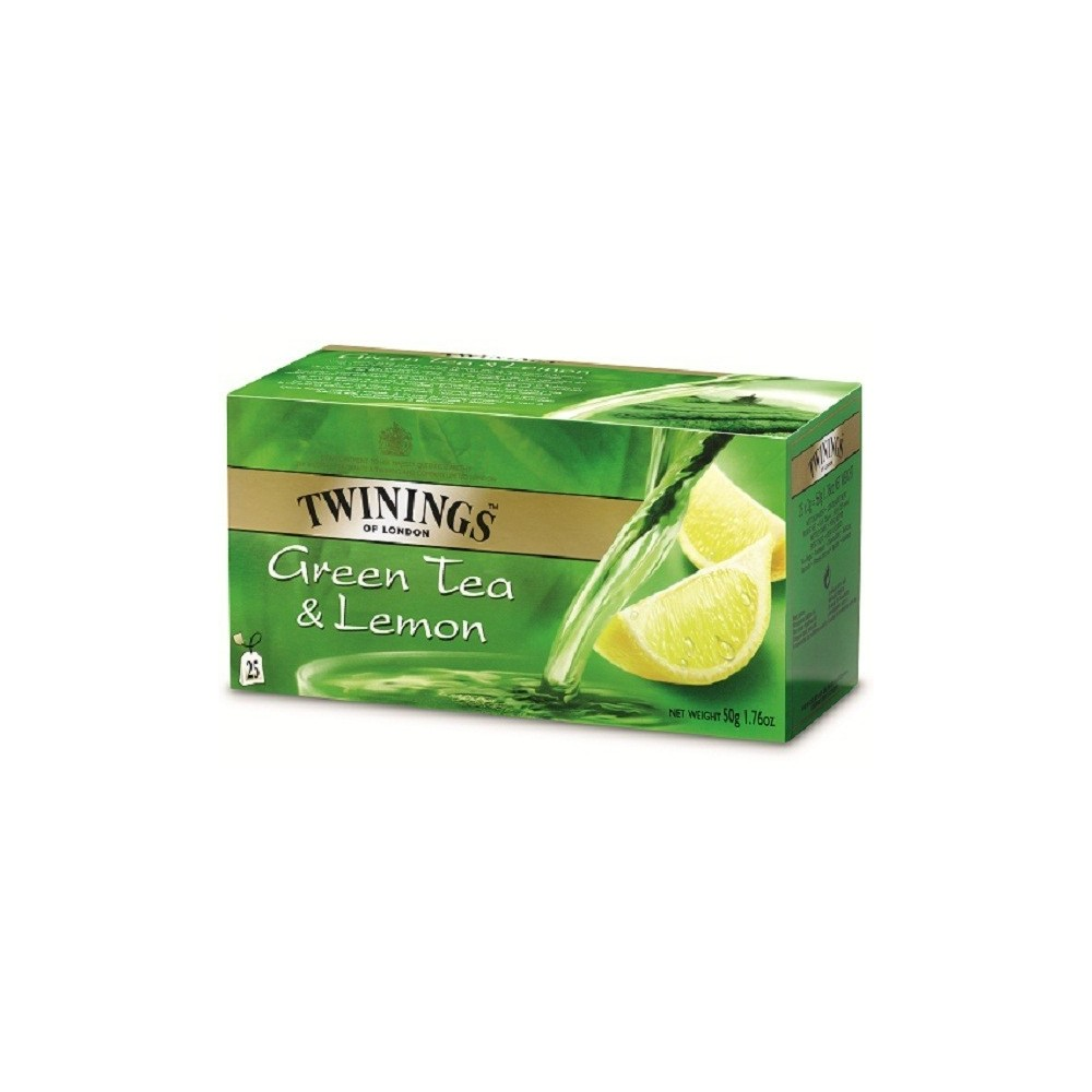 Twinings Green Tea a Lemon 25x2g