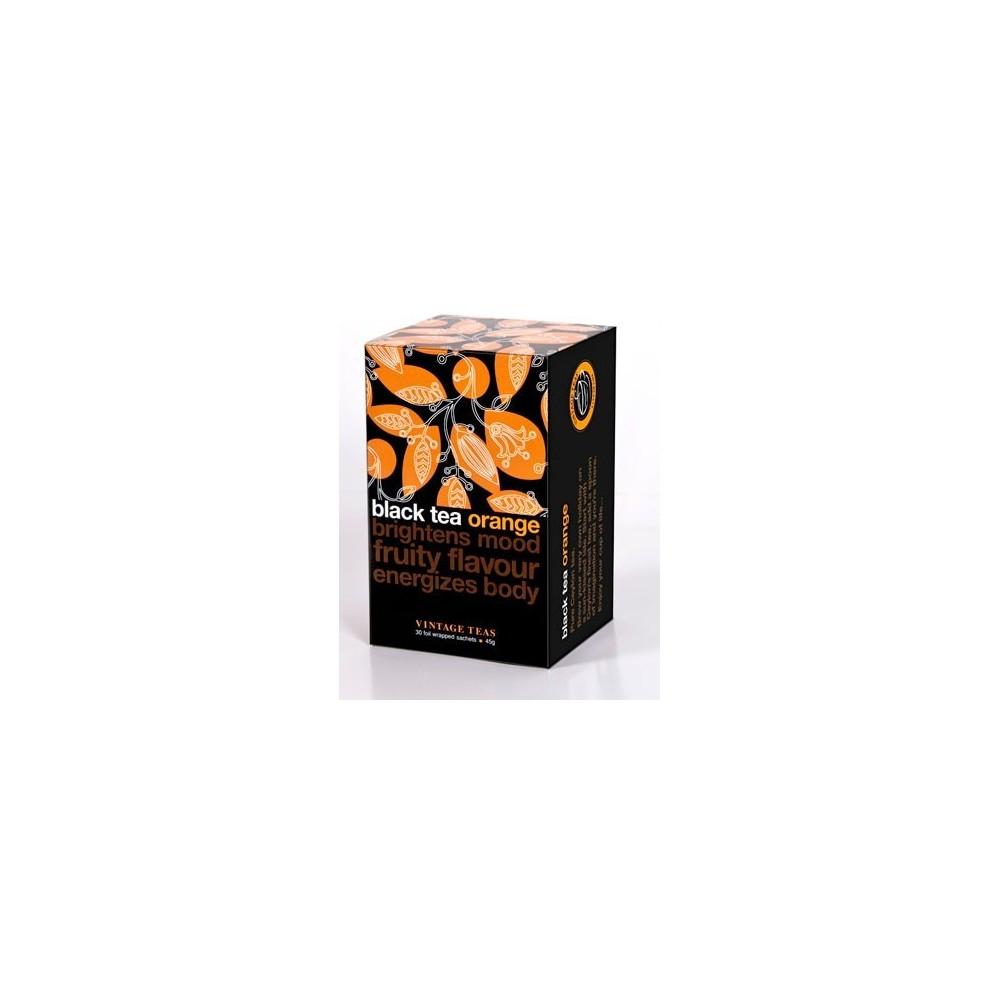 Vintage Teas Černý čaj  pomeranč 30 x 1,5 g