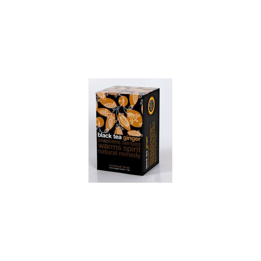Vintage Teas Černý čaj zázvor 30 x 1,5 g