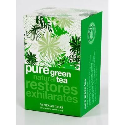 Vintage Teas Čistý zelený čaj / Pure Green Tea 30 x 1,5 g