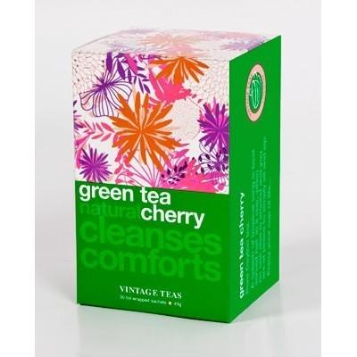 Vintage Teas Zelený čaj třešeň 30 x 1,5 g