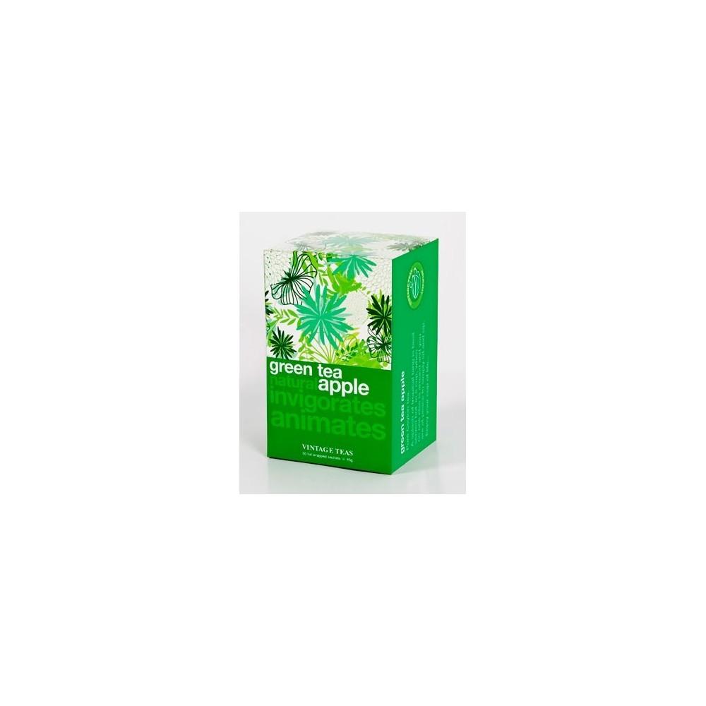 Vintage Teas Zelený čaj jablko 30 x 1,5 g