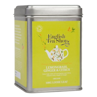 ETS Citronová tráva, zázvor, citrusy 100g sypaný čaj