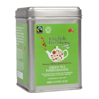 ETS Zelený čaj, granátové jablko 100g sypaný čaj
