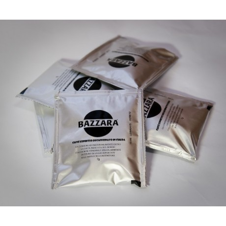 Bazzara 100% Arabika Etiopia Sydamo porcovaná káva v podech 10 ks