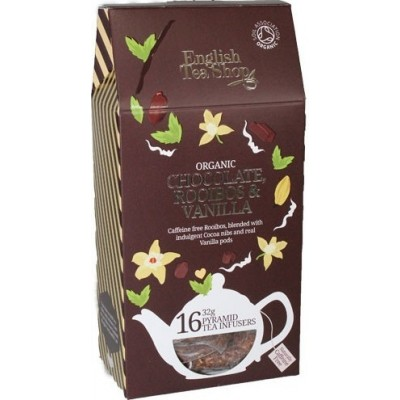 ETS Čokoláda, rooibos a vanilka 16 pyramidek