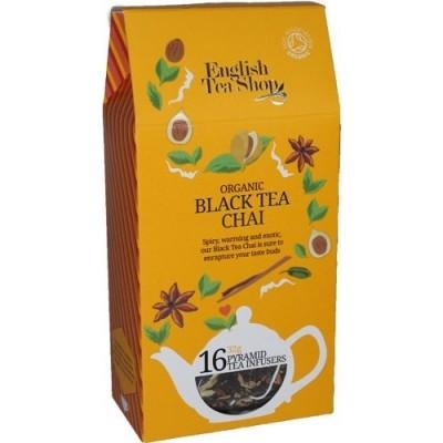 ETS Černý Chai Tea 16 pyramidek