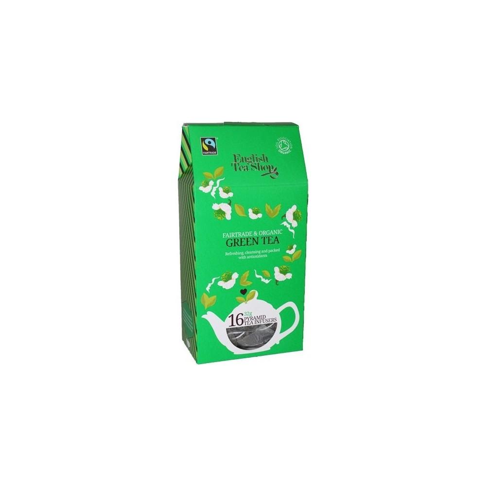 ETS Zelený čaj 16 pyramidek