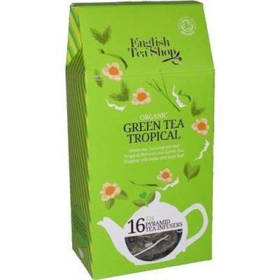 ETS Zelený čaj s Tropickým Ovocem 16 pyramidek