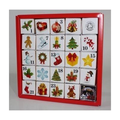 ETS Adventní kalendář Vánoční ozdoby - 25 Sáčků