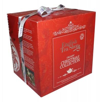ETS Vánoční kostka ve Viktoriánském stylu červená 96 čajů