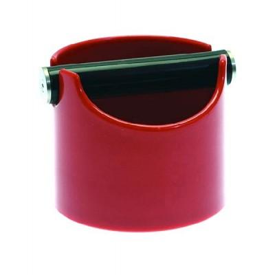 Knock box (odklepávač na kávu) ø 119x102 mm červený