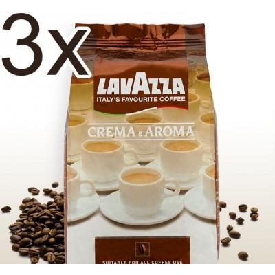 Lavazza Crema e Aroma 3x1kg zrnková káva